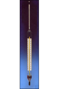 Hydrometer 0,695 - 0,715 with WG-therm.+5+25°C Hydrometer high precision for...