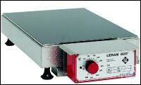 Hotplates,CERAN 500® heating surface, table-top appliance with built-in regulator, 50...500°C,...
