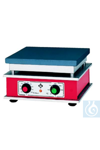 Heating platform with thermostatic reg-ulator and power wattage control, 610 x 160 mm, 1000 W,...