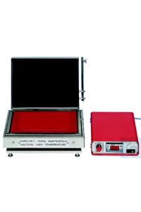 High temp. titanium hotplate up to 600°C, 230V, 2000 Watt, plate size 280 x 200 mm, without...