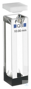 Semi-micro cell 109.004F-QS PL 10x4mm, Semi-micro cell 109.004F-QS PL 10x4mm...