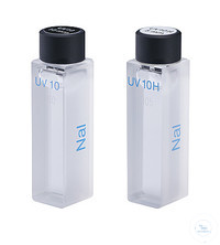 Liquid filter type 667-UV10H for testing stray light, reference filter according Liquid filter...