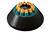 Winkelrotor 12-fach PA, komplett mit Hülsen, Winkel 35°, für 6x15ml Röhrchen,...