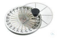 Haematokritrotor für 24 Kapillaren inkl. Deckel