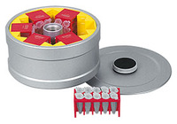 Drum rotor, 6-place 90°, with lid, without adapter, for MIKRO 220 | 220 R...