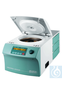 2Articles like: MIKRO 200 R Microliter Centrifuge, refrigerated, without rotor, 200 - 240 V...
