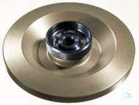 Deckel Leichtmetall, biodicht, autoklavierbar, phenolbeständig, für Rotor...