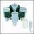Ausschwingrotor 4-fach für ASTM-Röhrchen Ausschwingrotor 4-fach für ASTM-Röhrchen