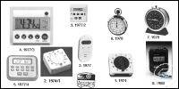 Digital interval timer with stopwatch and clock old order number: 1977/2...