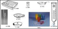 Medicine cups of polypropylene, disposable, approximate scale, capacity 30...