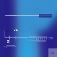 PT100 penetration probe/plunge sensor, 300 × 4 mm PT100 penetration...