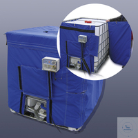 IBC-Container heating jacket KM-IBC2-1100 *with 2 heating zones IBC-Container heating jacket...
