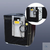 IBC-Container heating jacket KM-IBC-1100-EX *ATEX-design 1200 x 1000 x 1160...