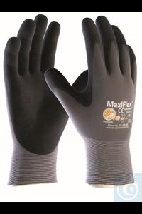 MaxiFlex 42-874 Arbeitshandschuhe, Gr. L (9) Montagehandschuhe für...