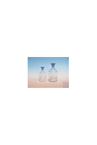Oxygen bottle ca. 120...150 ml with NS 14,5 con. shoulder/narrow neck Oxygen...