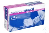 Einmal-Latex-Handschuhe, puderfrei  Pak a. 90 Stk