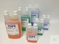 technische Pufferlösung pH 4,01 (25°C)  1000 ml rot eingefärbt, in der praktischen Dosierflasche...