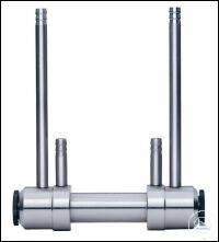 Flow through sample tube (stainless steel)  Polarimeter tube with hose...