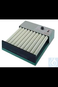 2 Artikel ähnlich wie: RM 10V wie 1758 Taumel-Rollenmischer mit 10 Rollen 32cm, 10-60 U/min, 6.5°,...