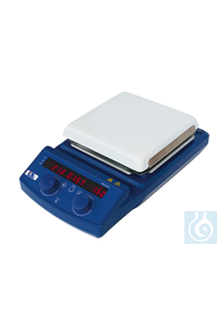 IDL- Magnetic Stirrer Type 2005 LED, with square heating plate 185 mm Type 2005 LED with square...