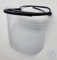 Gesichtsschutzschild mit Stirnband Schutz gegen Partikel  Dieser Gesichtsschutz schützt vor...