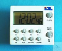 Multi-timer digitaal TM-44, 4 timers, count down/count up 99 h Timer digitaal, IDL  Aftellen /...
