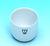 Incinerating dishes porcelain, 15 ml, 33/1, glazed, 40 mm Ø, H: 21 mm Cylindrical incineration...