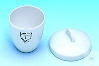 Creuset en porcelaine 13 ml, 79 MF/7, forme moyenne, Ø 35 mm Creusets en porcelaine IDL, DIN 12...