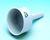 Büchner funnel 795 ml, 127 C/4, porcelain, 125 mm nominal size Filter funnels, Büchner type, DIN...