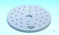 Plaque en porcelaine pour dessicateur, 119C/280, 280 mm Ø, épaisseur 10 mm Plaques pour...