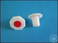 PE stopper, for standard ground joint ST 10/19 Stoppers with standard ground joint (NS) made of...