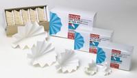 Vouwfilters IDL 185 mm *100% cellulose* verpakking van 100 stuks Vouwfilter, IDL   Vouwfilter...