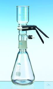 IDL filtration unit with bottle 2 l, complete unit with clamp Borosilicate glass 3.3,...