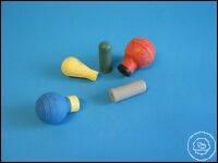 Saugball grau 2ml für wiederholte entnahmen