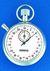 2 artikelen als: Chronometer 387 nr. 112.0401-00 stiftanker, 7 stenen, verdeling 1/10 sec...