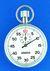 2 artikelen als: Chronometer 387 nr. 112.0101-00 stiftanker, 7 stenen, verdeling 1/5 sec...
