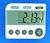 Dubbele timer count down/count up 6081 TR 118 OS 7857 Dubbele timer IDL, met...