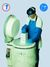 Cryo-temp-shield, face shield, apron, safety sign and gloves, forearm length CRYO-TEMP-SHIELD,...