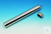 Pipettenbüchse 18/8 Stahl d./mm 65, Länge 350mm