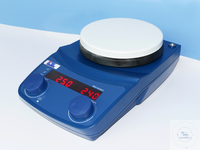 IDL- Magnetic Stirrer Type 2002 LED, with round heating plate Type 2002 LED with round heating...