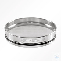 13Artículos como: St.st. 200x32 mm / w- 0.020 mm, ISO 3310-1 HAVER TEST SIEVE WITH STAINLESS...
