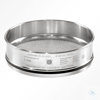 St.st. 250x55 mm / w- 53 mm, ISO 3310-1 HAVER TEST SIEVE WITH STAINLESS STEEL...
