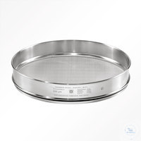 St.st. 400x65 mm / w- 0.020 mm, ISO 3310-1 HAVER TEST SIEVE WITH STAINLESS...