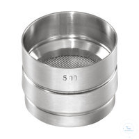 9Artículos como: St.st. 50x25 mm / w- 0.020 mm, ISO 3310-1 HAVER TEST SIEVE WITH STAINLESS...