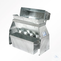 Sample splitter RT 25 galvanized sheet steel HAVER SAMPLE SPLITTER RT 25FOR...