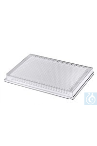 Riplate® 384 well plate PS clear, V-bottom Riplate® 384 well plate PS clear,...