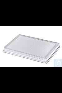 Riplate® 384 well plate PS klar, F-bottom Riplate® 384 well plate PS klar,...