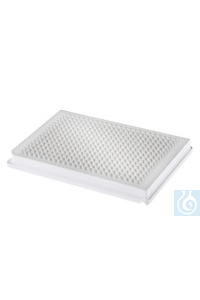 Riplate® 384 well plate PS white, V-bottom Riplate® 384 well plate PS white,...