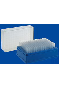 microTube rack mit 96 Einzelröhrchen 1,2 ml / microTube rack with 96...