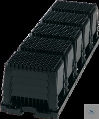 blackKnights, 300 µl, tray, stacked in racks blackKnights, 300 µl, tray,...